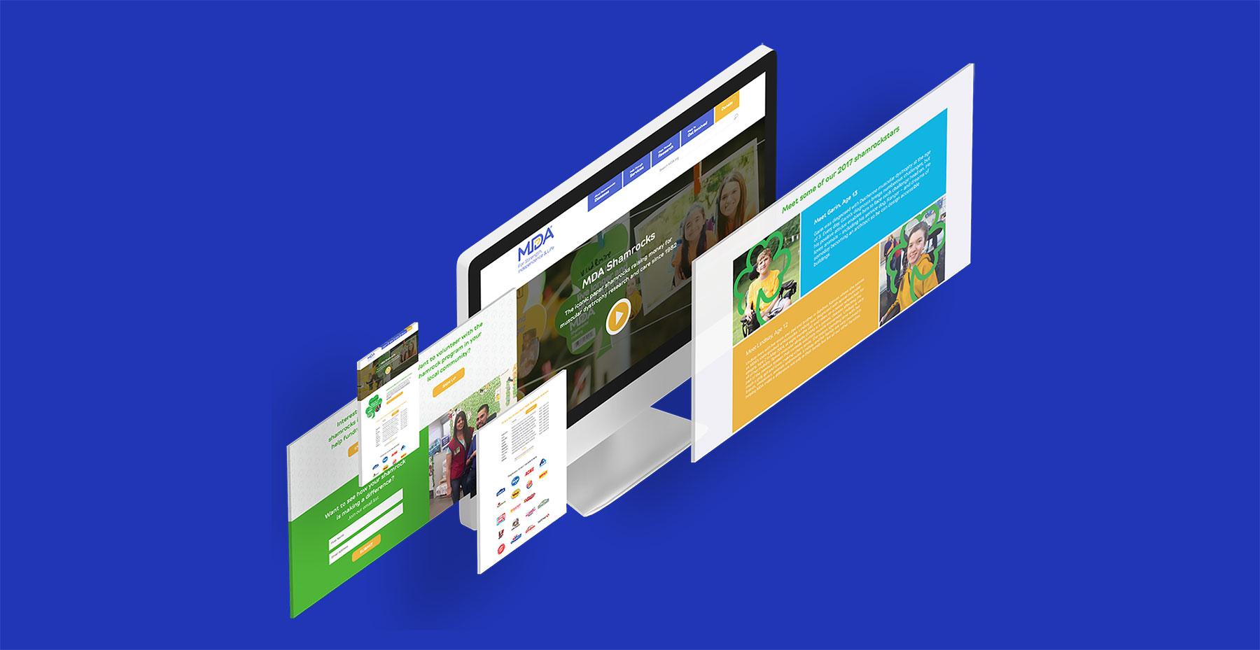 MDA website examples