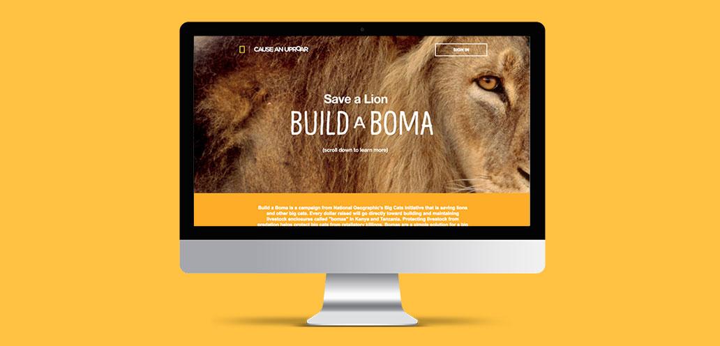 Build a Boma iMac mockup