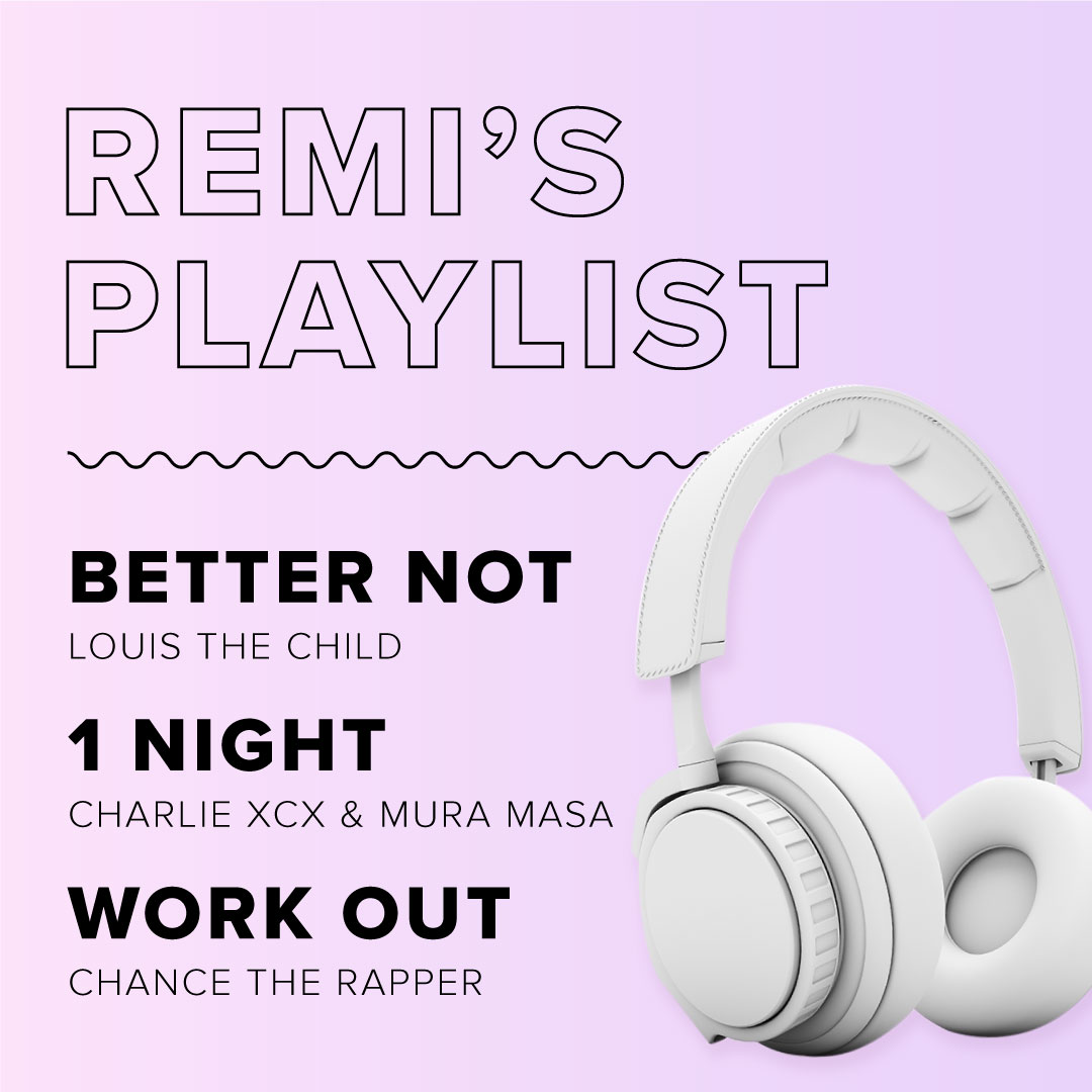 A list of Remi's favorite songs