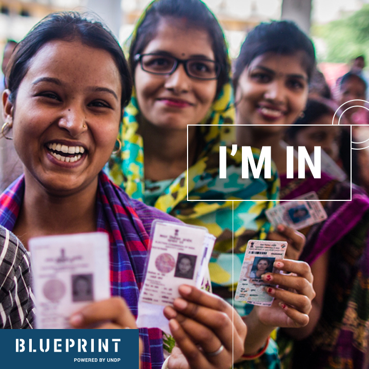 UNDP campaign creative blueprint ad
