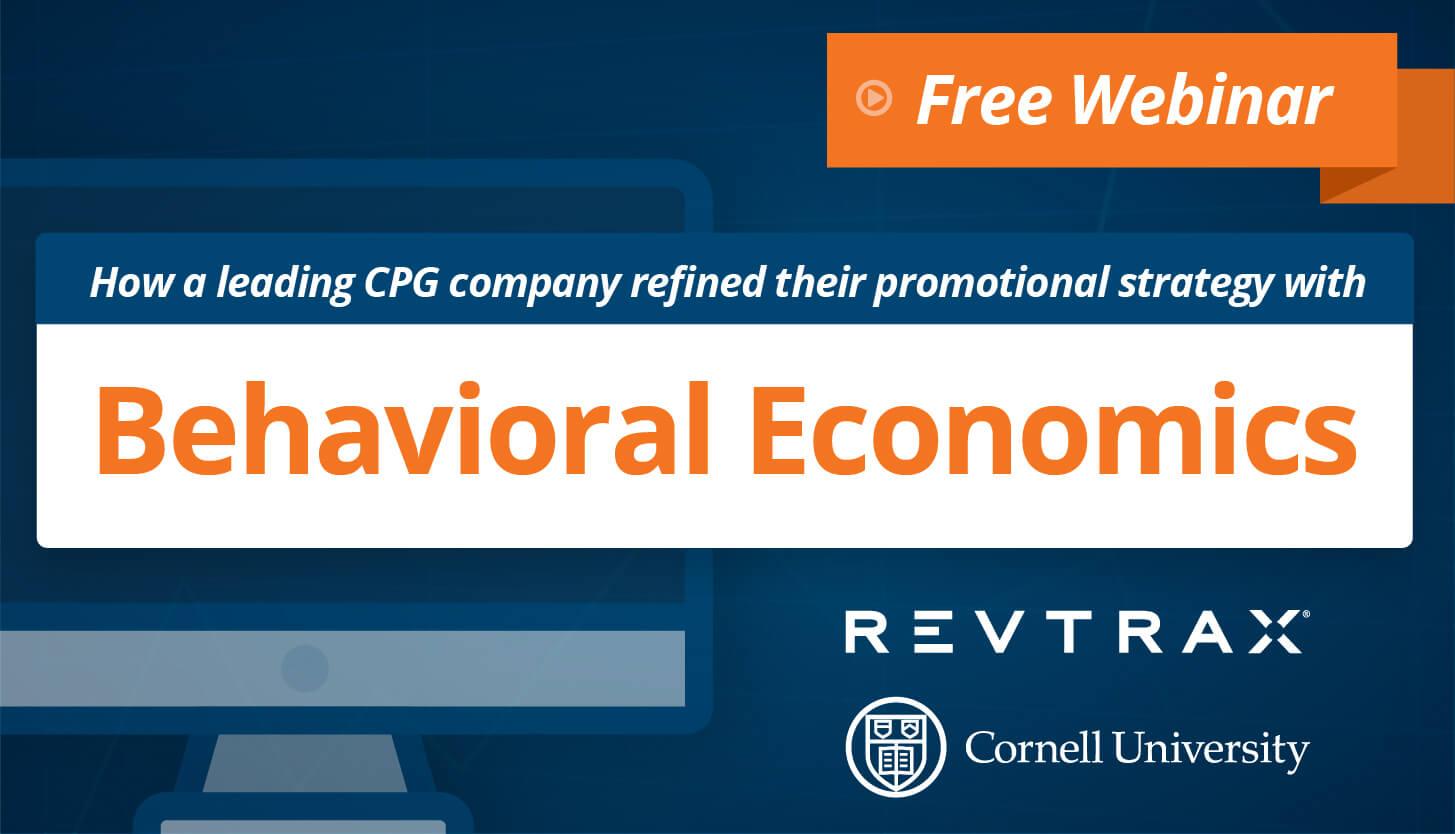 a revtrax graphic designed about behavioral economics