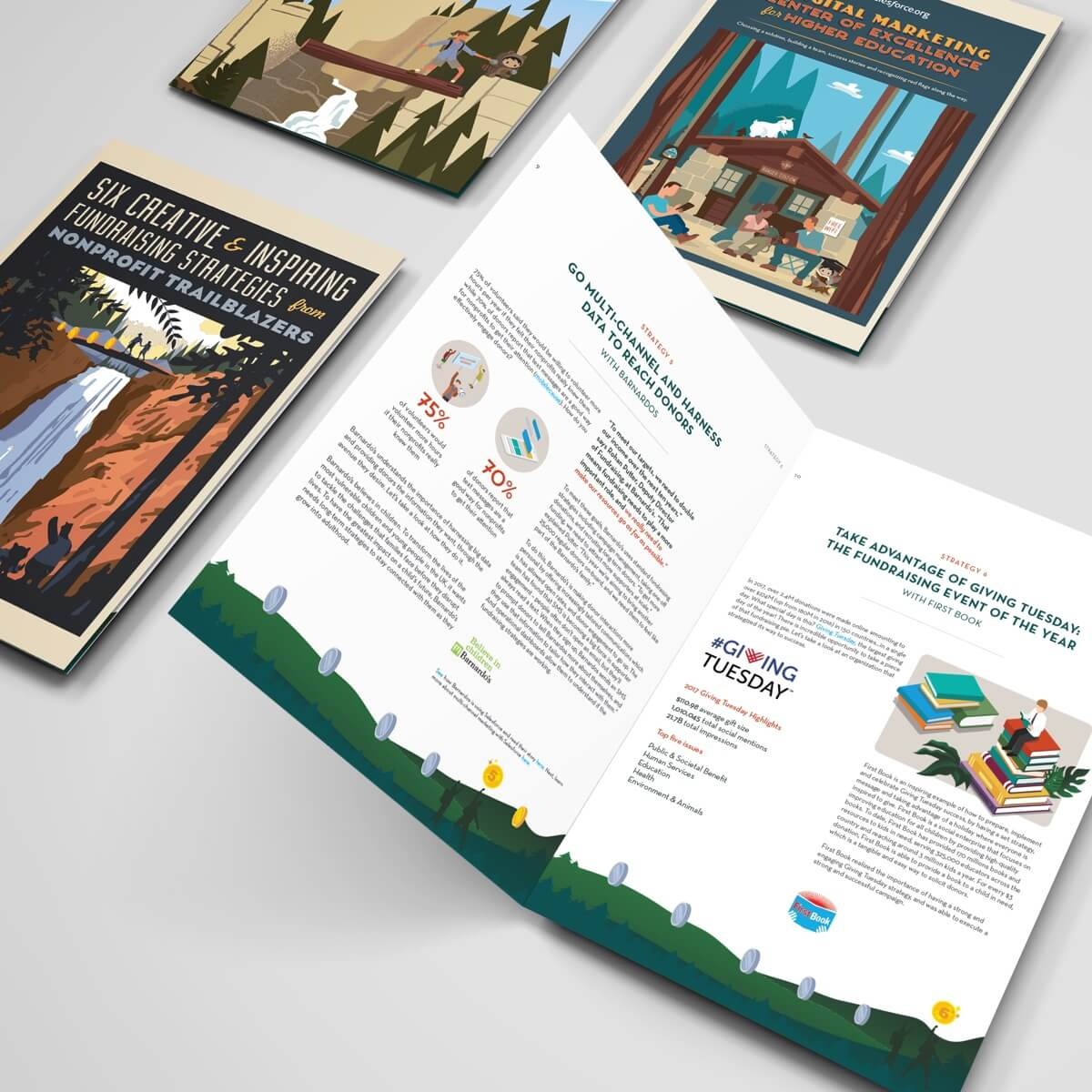 salesforce marketing collateral mock ups