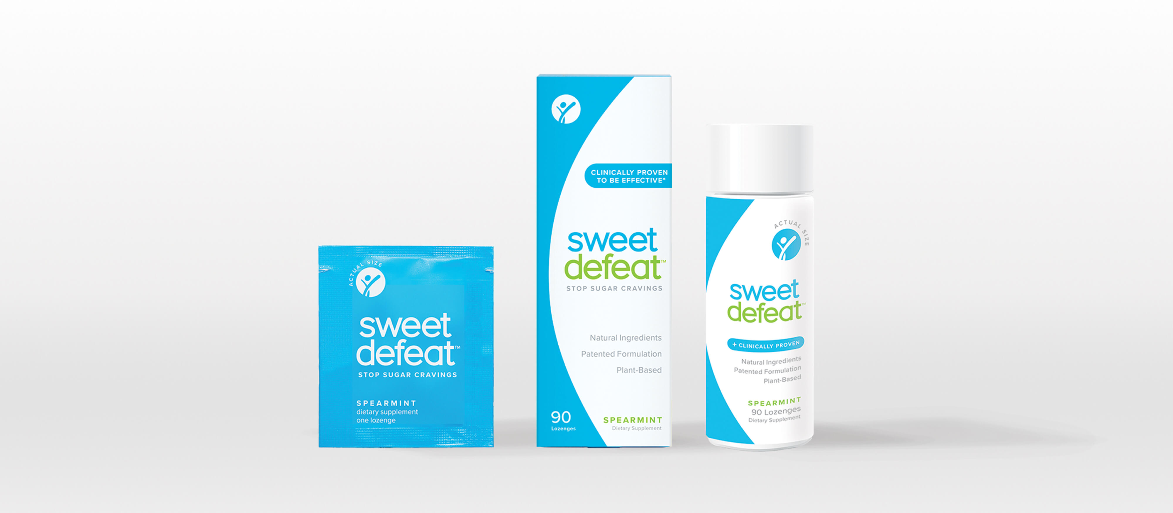 sweet defeat packaging design