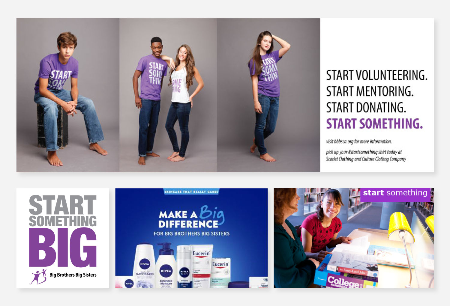 Banner Ads for Big Brothers and Big Sisters