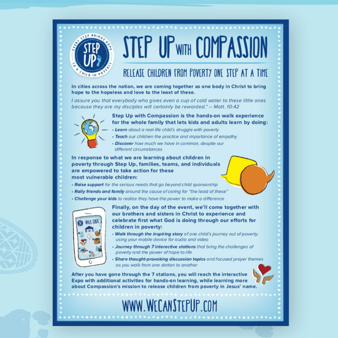 Poster design for compassion international by Matchfire