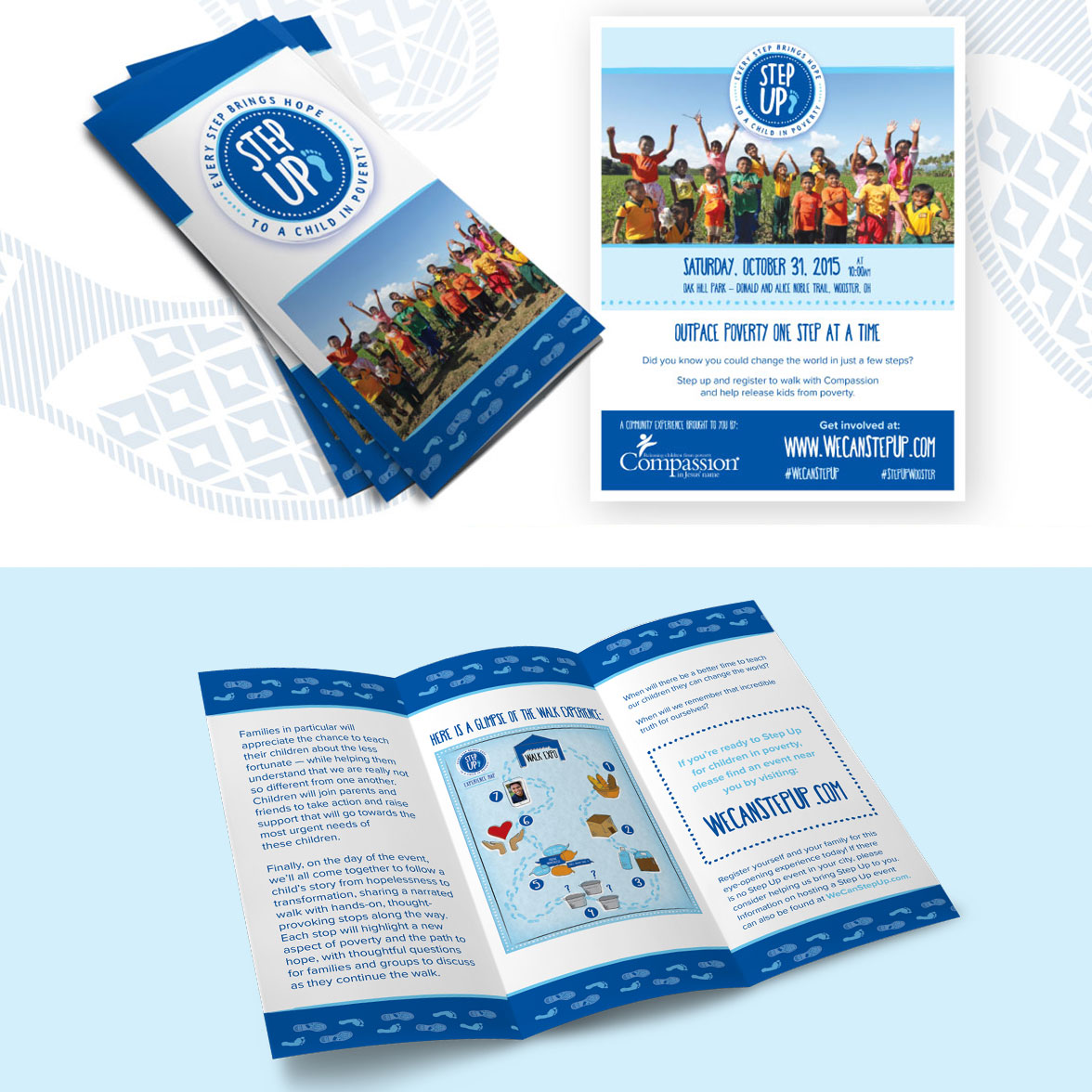 Brochure Design for compassion international