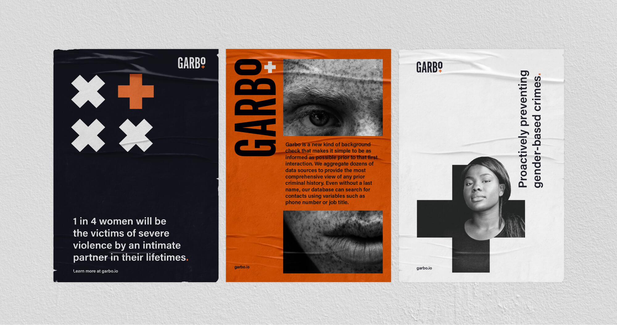 garbo posters designed by matchfire