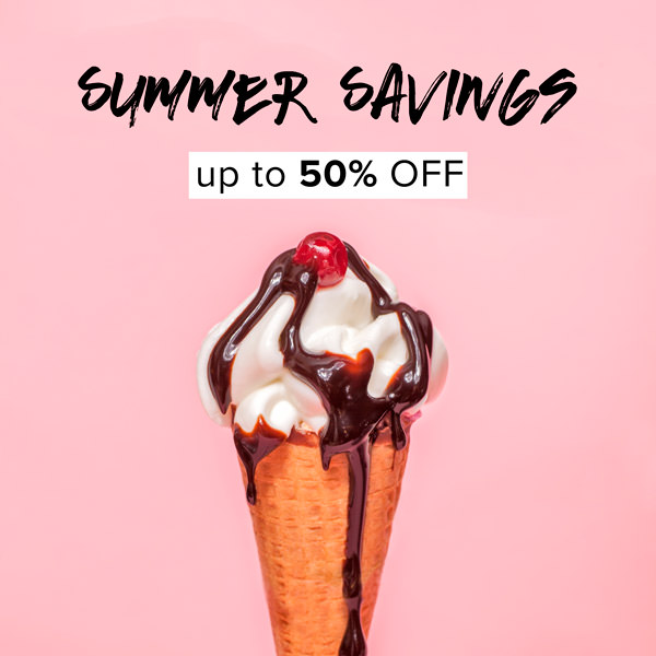 Intelliwhite social media ad for summer savings